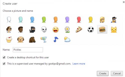 Добавляем контролируемых пользователей в Chrome