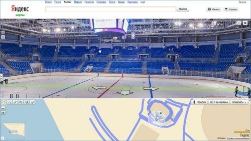 Яндекс.Карты позволят совершить виртуальную прогулку по олимпийским объектам в Сочи