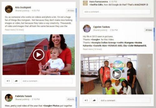 Поиск по марке фотокамеры в Google+ Фото