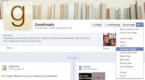 Всё, что вам нужно знать об интеграции Goodreads и Facebook