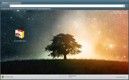 10 популярных тем для браузера Google Chrome
