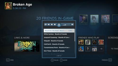 Valve представила функцию Steam Music