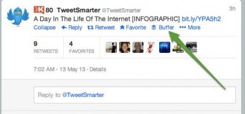 Как запланировать ретвиты на Twitter с помощью расширения Bufferapp