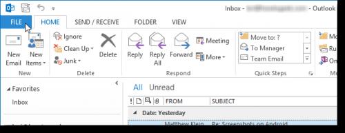 Как добавить дни отдыха в ваш календарь в Outlook 2013