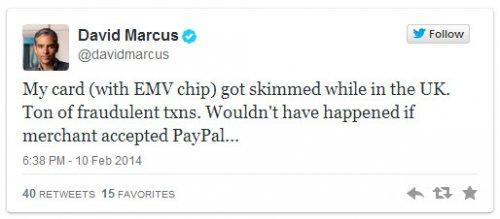 У президента PayPal взломали платежную карту