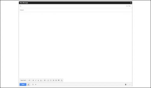Каким образом можно вернуть старую форму создания письма в Gmail?