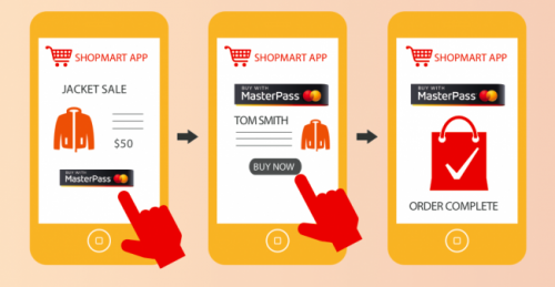 MasterCard запускает платежи MasterPass для покупок внутри мобильных приложений