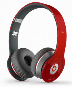 Monster Beats Wireless красные