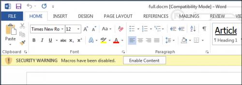 Почему файлы Microsoft Word могут быть опасными