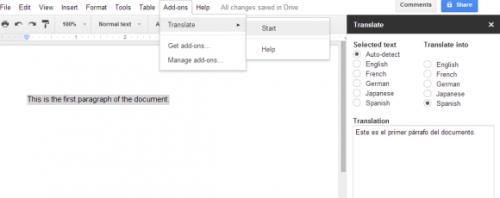 Модули дополнений для приложений Диска Google
