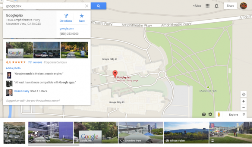 Новый интерфейс Карт Google заменил классический