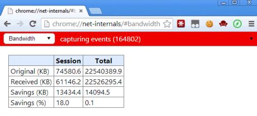 Включаем сжатие данных в десктопном Chrome