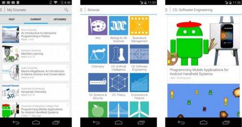 Состоялся выход приложения Coursera для Android