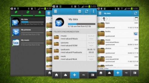 CloudCube — одна программа для управления Google Drive, Dropbox, OneDrive, Яндекс.Диск на Android