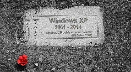 Завтра Microsoft прекращает поддержку Windows XP