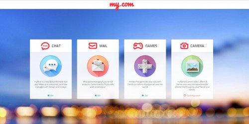 Mail.ru запустил в США свой сервис My.com в лице myMail, myChat и myGames