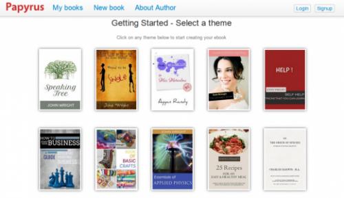 Papyrus Editor — сервис для создания и публикации электронных книг