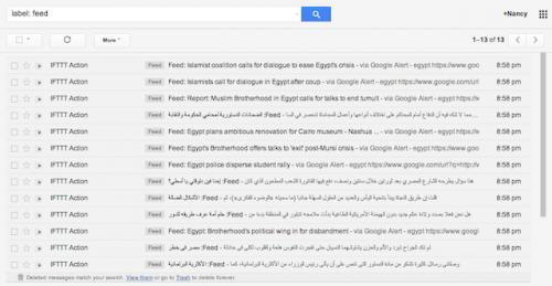 Как использовать Gmail в качестве RSS-ридера