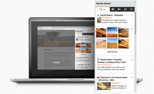 Kikin — удобный способ контекстного поиска в Google Chrome