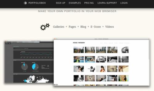 Где и как создать себе сайт-визитку, портфолио или галерею