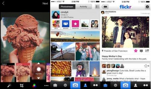 Состоялся выход полностью переработанных приложений Flickr для Android и iOS