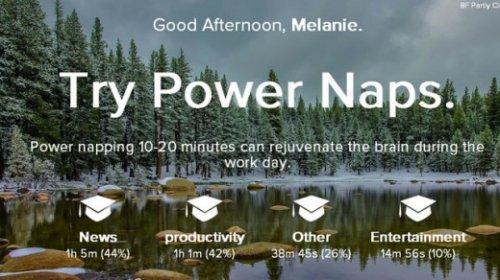 Limitless — красивый мониторинг продуктивности в Google Chrome