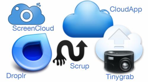 Несколько альтернатив сервису Droplr