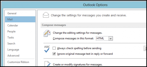 Как отключить всплывающие уведомления в Outlook 2013