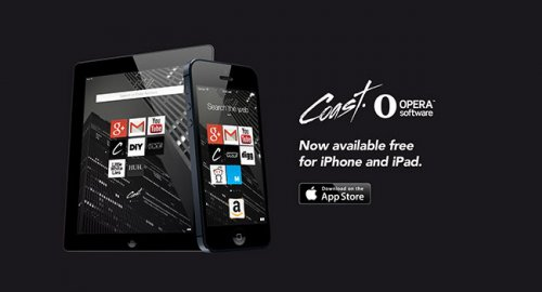 Браузер Opera Coast стал доступен для iPhone