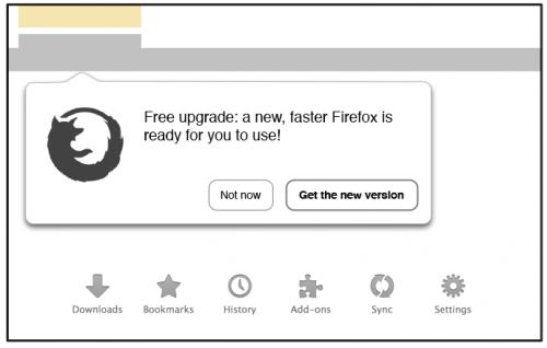 Mozilla попробует принудительно обновить старые браузеры Firefox