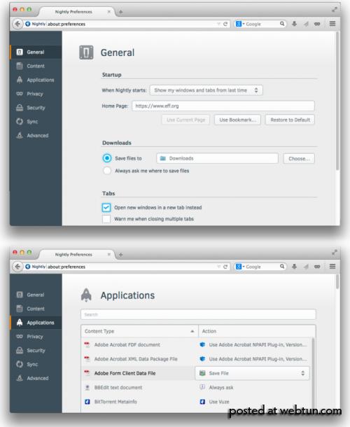 В Firefox появится новый конфигуратор и поддержка перевода страниц