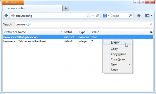 Как изменить скрытые настройки в браузере