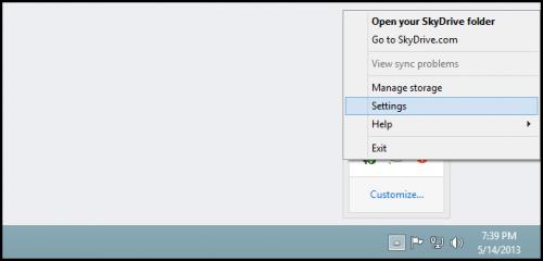 Как синхронизировать отдельные папки из SkyDrive на свой ПК