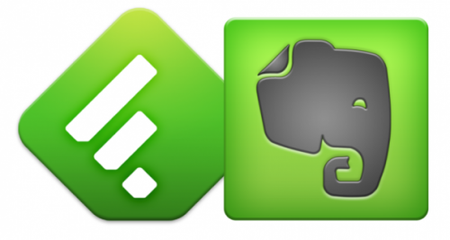 �������� �������� ��������� ������������� ������ Evernote + Feedly Pro
