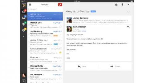 В Gmail для iOS появилась интеграция с Drive