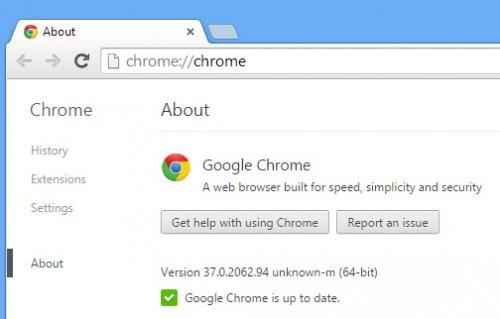 Google представила 32- и 64-битную стабильные версии браузера Chrome 37
