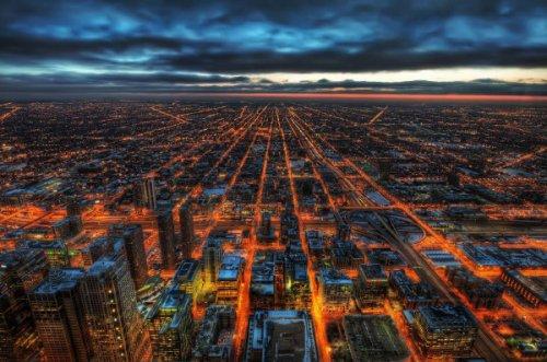 25 городов мира с высоты птичьего полёта