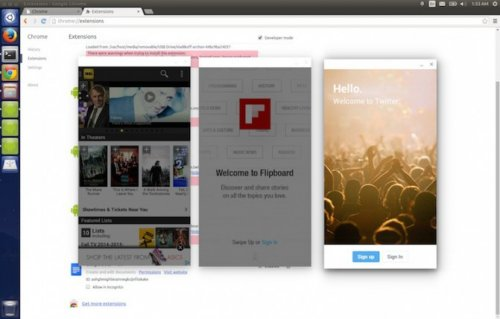 ARChon Runtime: как запустить Android приложение в Chrome