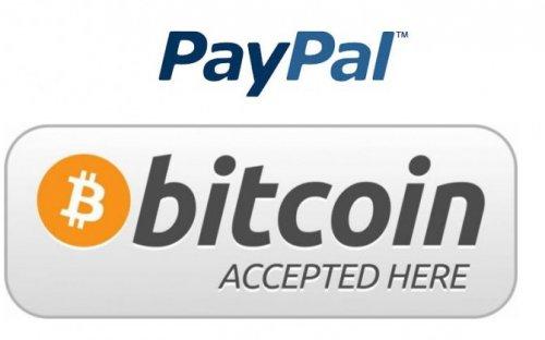 Paypal начинает принимать Bitcoin при покупке игр и других цифровых товаров