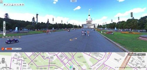 Электронный атлас Москвы пополнился панорамными снимками крупнейших парков
