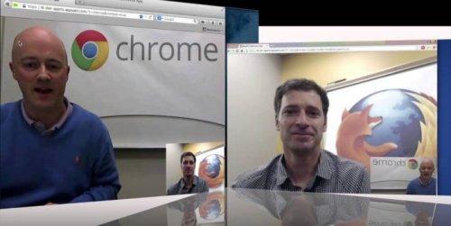 WebRTC-видеочат в Firefox Beta