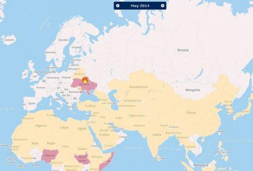 Интерактивная карта конфликтов