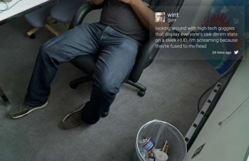 Клиент Twitter для Google Glass неожиданно стал недоступен