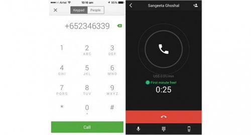 Первая минута разговора в Google Hangouts будет бесплатной при звонках в некоторые страны