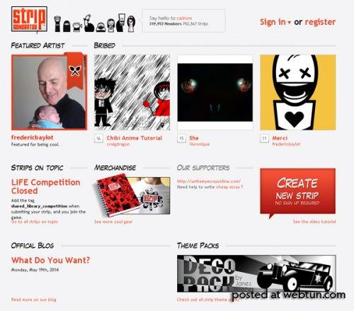 Подборка десяти лучших сайтов для создания комиксов