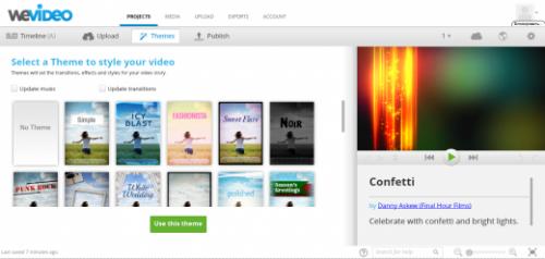 WeVideo поможет оформить ваши праздничные видеоролики
