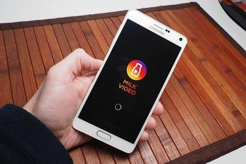 Samsung запустила бесплатный сервис потокового видео Milk Video для владельцев смартфонов Galaxy