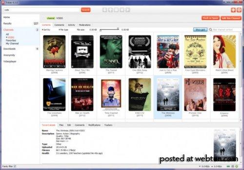 Tribler – полностью анонимная версия BitTorrent, которую невозможно отключить
