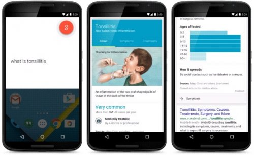 Google начала выводить базовую медицинскую информацию в поисковых результатах