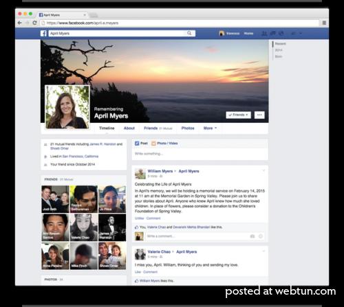 Аккаунт в Facebook можно будет передать по наследству